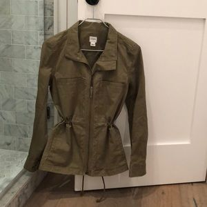 J crew olive jacket